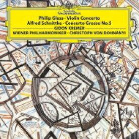 グラス、フィリップ(1937-) / ヴァイオリン協奏曲(グラス)、他:クレーメル(ヴァイオリン)、ドホナーニ指揮&ウィーン・フィルハーモニー管弦楽団 (アナログレコード / Deutsche Grammophon) 【LP】