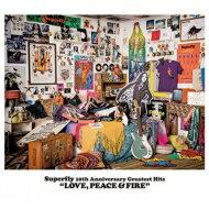 【送料無料】 Superfly / Superfly 10th Anniversary Greatest Hits 『LOVE, PEACE & FIRE』 【通常盤】 (3CD) 【CD】