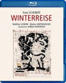 【送料無料】 Schubert シューベルト / 『冬の旅』 マティアス・ゲルネ、マルクス・ヒンターホイザー、ウィリアム・ケントリッジ(ヴィジュアル)(日本語解説付) 【BLU-RAY DISC】