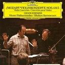 Mozart モーツァルト / ヴァイオリン協奏曲第4番、第5番『トルコ風』 ギドン・クレーメル、ニコラウス・アーノンクール & ウィーン・フィル 【L...