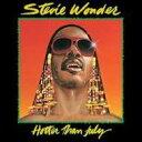Stevie Wonder スティービーワンダー / Hotter Than July (アナログレコード) 【LP】