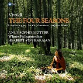 Vivaldi ヴィヴァルディ / 「四季」:アンネ=ゾフィー・ムター(ヴァイオリン)、カラヤン指揮&ウィーン・フィルハーモニー管弦楽団 (180グラム重量盤レコード / Warner Classics) 【LP】
