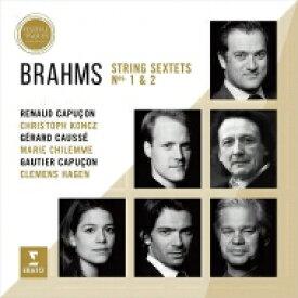 Brahms ブラームス / 弦楽六重奏曲第1番、第2番 ルノー・カプソン、ゴーティエ・カプソン、ジェラール・コセ、クレメンス・ハーゲン、他 輸入盤 【CD】
