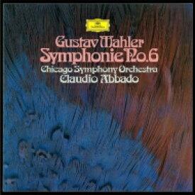 【送料無料】 Mahler マーラー / 交響曲第6番『悲劇的』 クラウディオ・アバド&シカゴ交響楽団(シングルレイヤー) 【SACD】