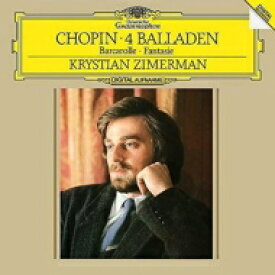 Chopin ショパン / 4つのバラード、幻想曲、舟歌:クリスティアン・ツィマーマン(ピアノ) (180グラム重量盤レコード) 【LP】