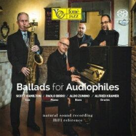 【送料無料】 Scott Hamilton スコットハミルトン / Ballads For Audiophiles (Hybrid SACD) 輸入盤 【SACD】