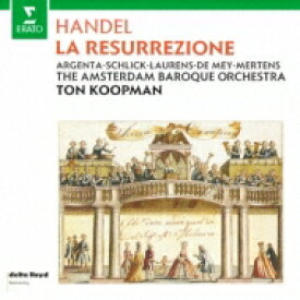 Handel ヘンデル / オラトリオ『復活』 トン・コープマン&アムステルダム・バロック管弦楽団(2CD) 【CD】