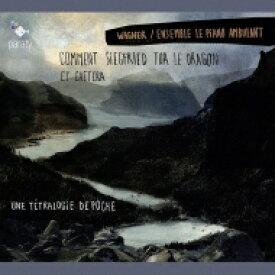 【送料無料】 Wagner ワーグナー / 『いかにしてジークフリートは大蛇を殺したか、その他〜6人の演奏家と1人のナレーターによるニーベルングの指環』 アンサンブル・ル・ピアノ・アンビュラン 輸入盤 【CD】
