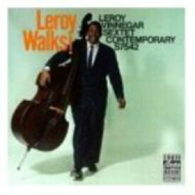 【送料無料】 Leroy Vinnegar ルロイビネガー / Leroy Walks! 輸入盤 【CD】