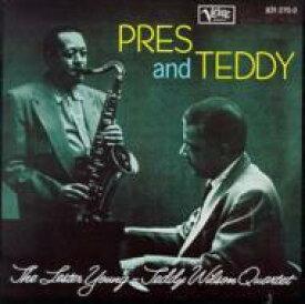 Lester Young/Teddy Wilson レスターヤング/テディウィルソン / Pres And Teddy 輸入盤 【CD】