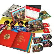 【送料無料】 Beatles ビートルズ / Sgt. Pepper's Lonely Hearts Club Band Anniversary Super Deluxe Edition (4CD+Blu-ray+DVD) 【限定盤】 輸入盤 【CD】