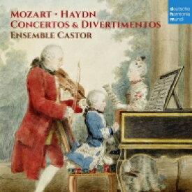 Mozart モーツァルト / モーツァルト:3つのクラヴィーア協奏曲 K.107、ハイドン:ディヴェルティメント集 アンサンブル・カストル 輸入盤 【CD】