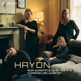【送料無料】 Haydn ハイドン / 弦楽四重奏曲集 Op.20 第2集 キアロスクーロ四重奏団 輸入盤 【SACD】