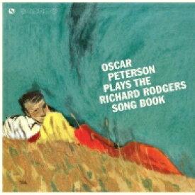 Oscar Peterson オスカーピーターソン / Plays The Richard Rodgers Song Book (180グラム重量盤) 【LP】