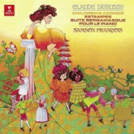 Debussy ドビュッシー / 子供の領分、ベルガマスク組曲、版画、ピアノのために:サンソン・フランソワ(ピアノ)(180グラム重量盤レコード / ERATO) 【LP】