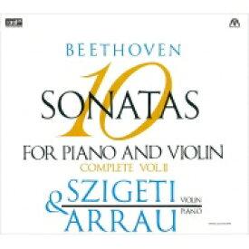 【送料無料】 Beethoven ベートーヴェン / ヴァイオリン・ソナタ第6、7、8、9、10番 ヨゼフ・シゲティ、クラウディオ・アラウ(2CD) 輸入盤 【CD】