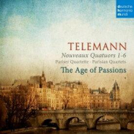 【送料無料】 Telemann テレマン / Paris Quartet, 1-6, : The Age Of Passions(Hille Perl Lee Santana Etc) 【BLU-SPEC CD 2】