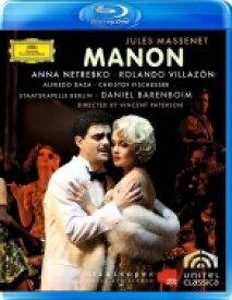 【送料無料】 Massenet マスネ / 『マノン』全曲 パターソン演出、ダニエル・バレンボイム&ベルリン国立歌劇場、ネトレプコ、ヴィラゾン、他(2007 ステレオ) 【BLU-RAY DISC】