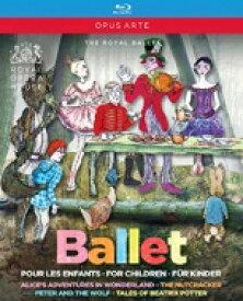 【送料無料】 バレエ&ダンス / 『不思議の国のアリス』『くるみ割り人形』『ピーターと狼』『ピーターラビットと仲間たち』 英国ロイヤル・バレエ(4BD) 【BLU-RAY DISC】