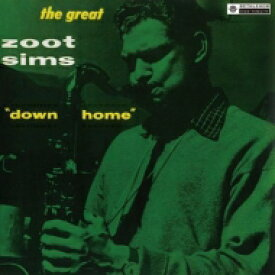 Zoot Sims ズートシムズ / Down Home+6 (Uhqcd) 【Hi Quality CD】