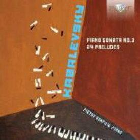 Kabalevsky カバレフスキー / Piano Sonata, 3, Preludes: Bonfilio 輸入盤 【CD】
