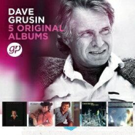 【送料無料】 Dave Grusin デイブグルーシン / 5 Original Albums (5CD) 輸入盤 【CD】