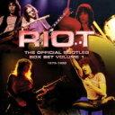 【送料無料】 Riot ライオット / Official Bootleg Box Set Vol 1: 1976-1980 (6CD) 輸入盤 【CD】