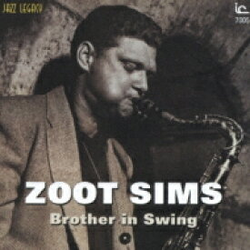Zoot Sims ズートシムズ / Brother In Swing 【CD】