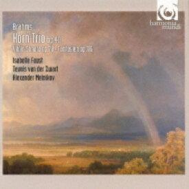 Brahms ブラームス / ヴァイオリン・ソナタ第1番『雨の歌』、ホルン三重奏曲、幻想曲集 イザベル・ファウスト、アレクサンドル・メルニコフ、他 【Hi Quality CD】