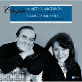 Chopin ショパン / ピアノ協奏曲第1番、第2番:マルタ・アルゲリッチ(ピアノ)、シャルル・デュトワ指揮&モントリオール交響楽団 (2枚組 / 180グラム重量盤レコード / Warner Classics) 【LP】