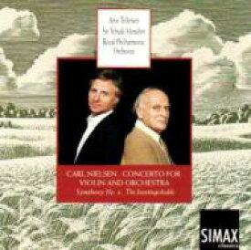 【送料無料】 Nielsen ニールセン / Violin Concerto, Sym.4: Tellefsen(Vn)menuhin / Rpo 輸入盤 【CD】