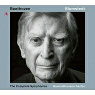 【送料無料】 Beethoven ベートーヴェン / 交響曲全集 ヘルベルト・ブロムシュテット&ライプツィヒ・ゲヴァントハウス管弦楽団(5CD)(日本語解説付) 【CD】