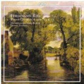 Ries リース / ピアノ四重奏曲Op.13 / 同Op.17 メンデルスゾーン・トリオ・ベルリン / ライスキン 輸入盤 【CD】