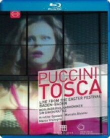 Puccini プッチーニ / 『トスカ』全曲 ヒンメルマン演出、サイモン・ラトル&ベルリン・フィル、オポライス、M.アルバレス、ヴラトーニャ、他(2017 ステレオ)(日本語字幕付) 【BLU-RAY DISC】
