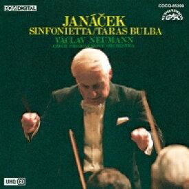 Janacek ヤナーチェク / シンフォニエッタ、タラス・ブーリバ ヴァーツラフ・ノイマン&チェコ・フィル 【Hi Quality CD】