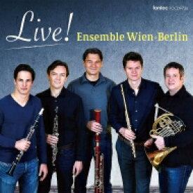 【送料無料】 アンサンブル・ウィーン=ベルリン/ライヴ! 【CD】