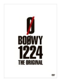 BOΦWY (BOOWY) ボウイ / 1224 -THE ORIGINAL- 【DVD】