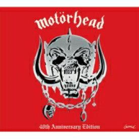 【送料無料】 Motorhead モーターヘッド / Motorhead: 40th Anniversary Edition 輸入盤 【CD】