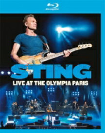 Sting スティング / Live At The Olympia Paris (Blu-ray) 【BLU-RAY DISC】
