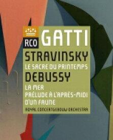 Stravinsky ストラビンスキー / ストラヴィンスキー:春の祭典、ドビュッシー:海、牧神の午後への前奏曲 ダニエーレ・ガッティ&コンセルトヘボウ管弦楽団 【BLU-RAY DISC】