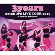 【送料無料】 Apink / Apink 3rd Japan TOUR 〜3years〜 at Pacifico Yokohama (Blu-ray) 【BLU-RAY DISC】