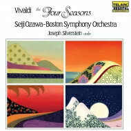 【送料無料】 Vivaldi ヴィヴァルディ / 四季:ジョゼフ・シルヴァースタイン(ヴァイオリン)、小澤征爾 指揮&ボストン交響楽団 (アナログレコード / Telarc) 【LP】