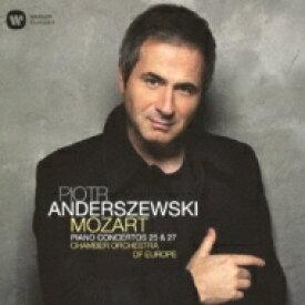 【送料無料】 Mozart モーツァルト / Piano Concerto, 25, 27, : Anderszewski(P) / Coe 【CD】