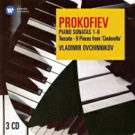 Prokofiev プロコフィエフ / ピアノ・ソナタ全集、ピアノ作品集 ウラディーミル・オフチニコフ(3CD) 輸入盤 【CD】