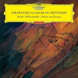 【送料無料】 Stravinsky ストラビンスキー / 春の祭典(2種)、バーゼル協奏曲、サーカス・ポルカ ヘルベルト・フォン・カラヤン&ベルリン・フィル(シングルレイヤー) 【SACD】