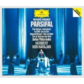 【送料無料】 Wagner ワーグナー / 『パルジファル』全曲 ヘルベルト・フォン・カラヤン&ベルリン・フィル、ペーター・ホフマン、クルト・モル、他(1979-80 ステレオ)(4CD) 【Hi Quality CD】