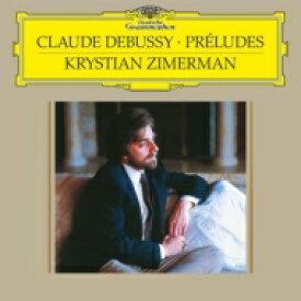 【送料無料】 Debussy ドビュッシー / 前奏曲第1巻、第2巻:クリスチャン・ツィメルマン(ピアノ) (2枚組 / 180グラム重量盤レコード / Deutsche Grammophon) 【LP】