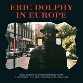 Eric Dolphy エリックドルフィー / In Europe (アナログレコード / Vinyl Passion) 【LP】