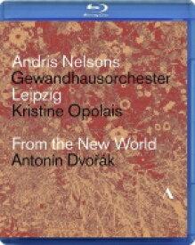 Dvorak ドボルザーク / 交響曲第9番『新世界より』、『ルサルカ』より、他 アンドリス・ネルソンス&ゲヴァントハウス管弦楽団、クリスティーネ・オポライス(日本語解説付) 【BLU-RAY DISC】