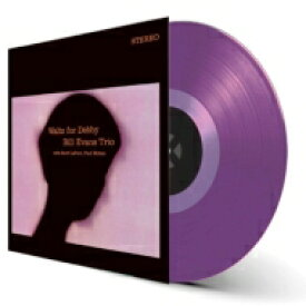 Bill Evans (Piano) ビルエバンス / Waltz For Debby (カラーヴァイナル仕様 / 180グラム重量盤レコード / waxtime in color) 【LP】